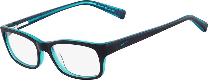 Armação Nike Junior Azul Navy Verde Esmeralda