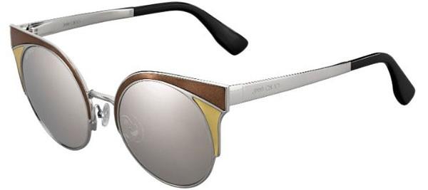 Óculos Jimmy Choo Ora lente Espelhada