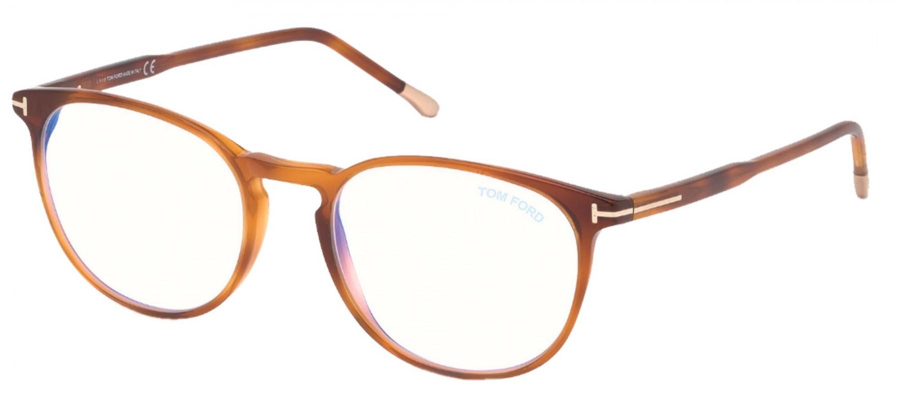 Tom Ford 5608B 053 Blue Block Tam 52 - Oculos de Grau