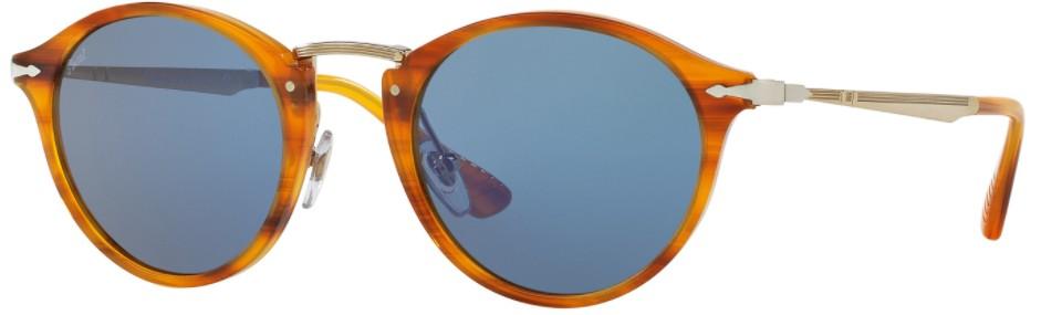 Óculos Persol PO3166 Marrom Lente Azul Comprar Online Original