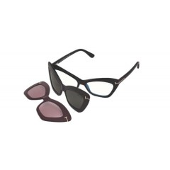 Tom Ford 5643B BLUE 001 - Oculos de Grau e Clip On