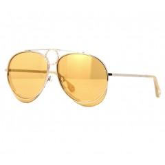 Chloe Romie 144S amarelo - Oculos de Sol aviador