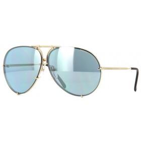 Porsche Design 8478 A Lentes Intercambiáveis - Óculos de Sol - Tamanho 69