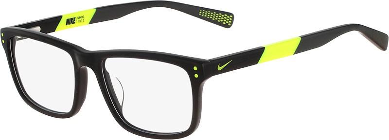 Óculos de grau Nike Preto com Amarelo Neon Volt