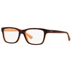 oculos de grau ray ban tartaruga laranja