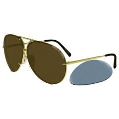 Porsche Design 8478 A Lentes Intercambiaveis Tam 66 - Oculos de Sol