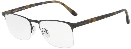 oculos de grau meio aro aço armani original