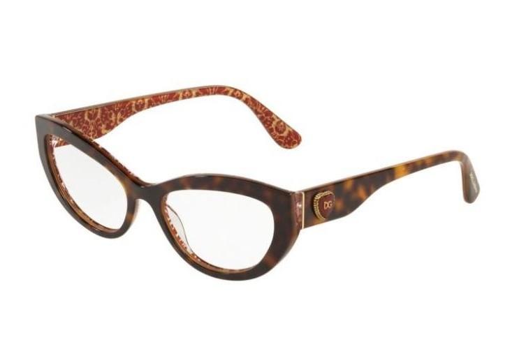 Dolce Gabbana 3306 3204 - Oculos de Grau