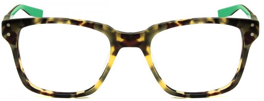 Óculos de grau Nike Havana Verde