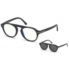 Tom Ford 5533B 02A - Oculos + CLIP