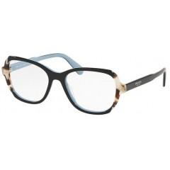 Prada Etiquette 03VV preto azul - Oculos de Grau