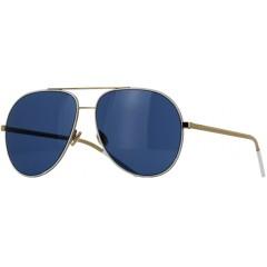 Óculos Dior Astral Branco Dourado Lente Azul