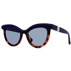 oculos max mara grace azul tartaruga