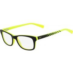 Óculos de grau Nike Preto Volt Neon