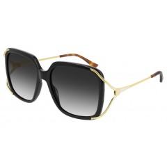 Gucci 0647 001 - Oculos de Sol