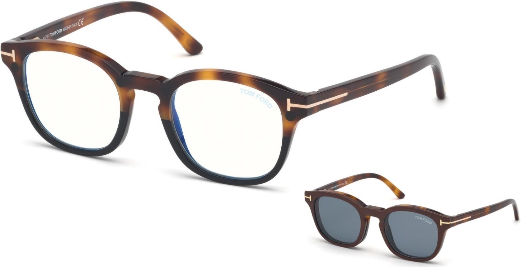 Tom Ford 5532B 56V Blue Block - Oculos  Clip On