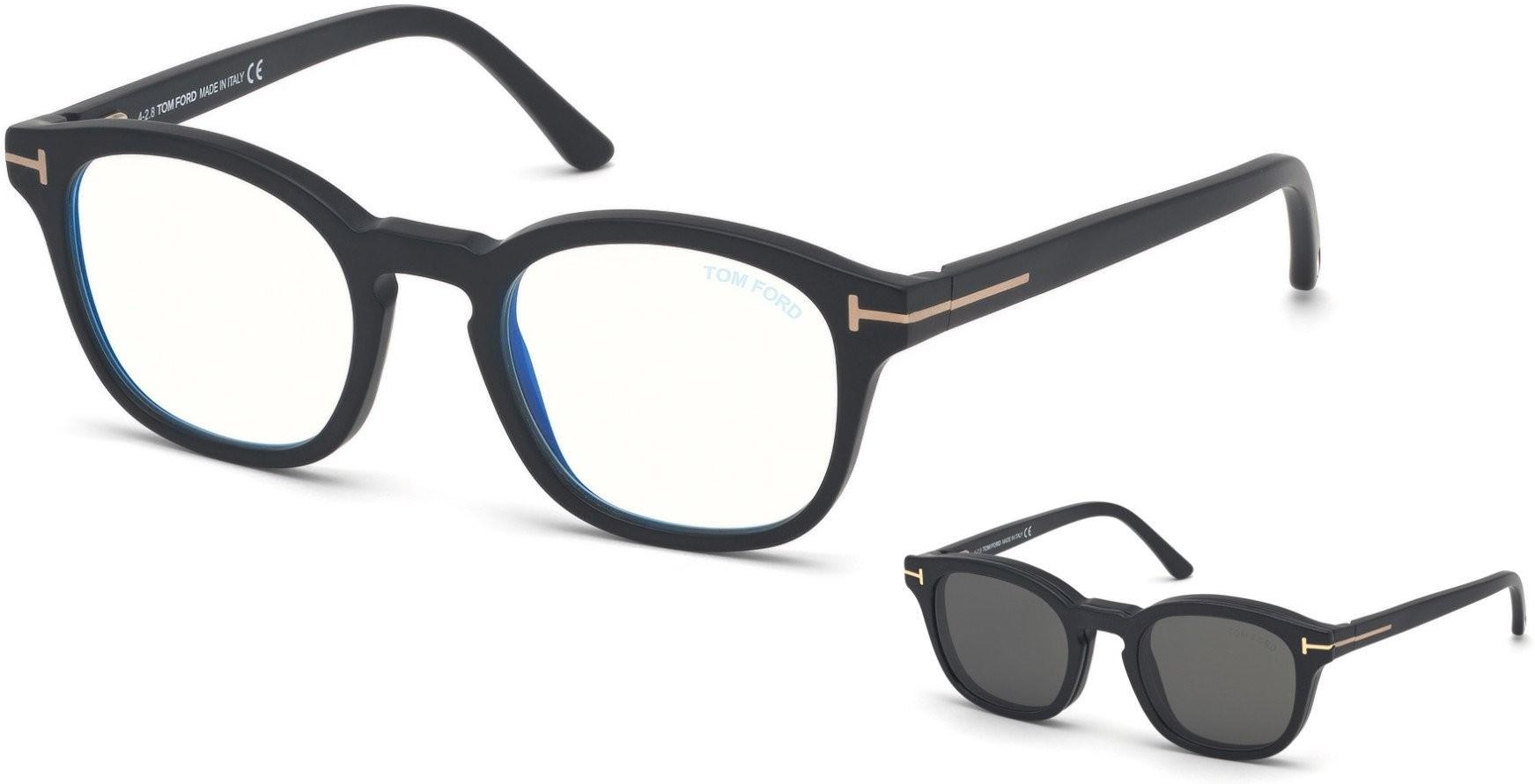 Tom Ford 5532B 02A CLIP - Oculos de Sol