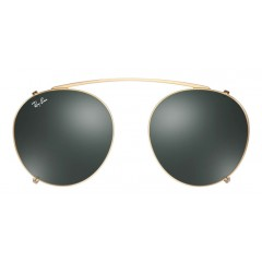 Clip On Verde Ray Ban Round Fleck - Comprar Online