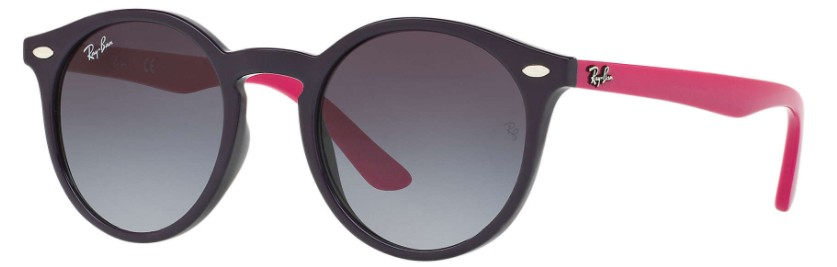 oculos ray ban junior 9064 roxo rosa